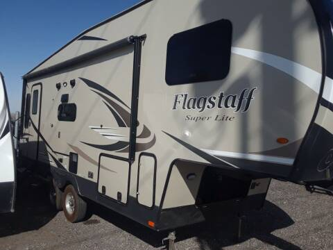 2019 ForestRiver Flagstaffr for sale at Sunset Auto Body in Sunset UT