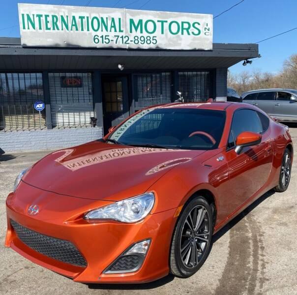 2015 Scion FR-S for sale at International Motors Inc. in Nashville TN