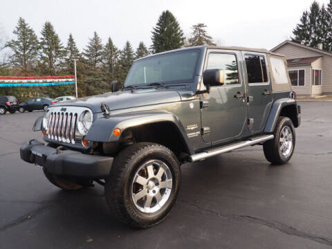 2008 Jeep Wrangler Unlimited for sale at Patriot Motors in Cortland OH