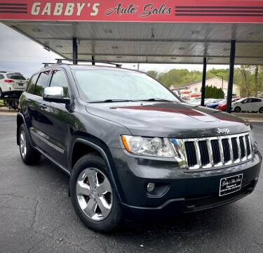 2011 Jeep Grand Cherokee for sale at GABBY'S AUTO SALES in Valparaiso IN