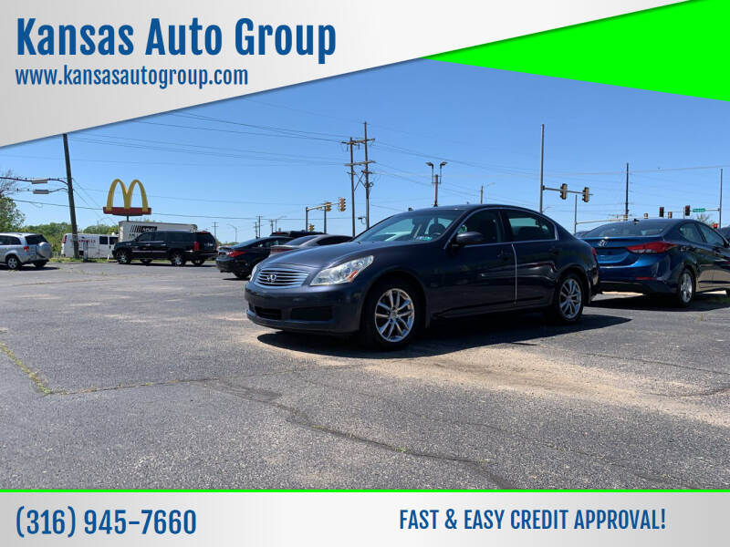 2008 Infiniti G35 for sale at Kansas Auto Group in Wichita KS