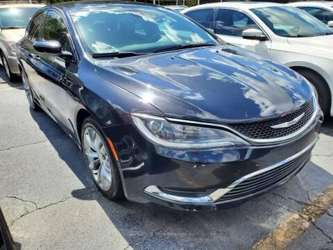 2016 Chrysler 200 for sale at America Auto Wholesale Inc in Miami FL