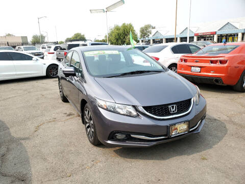 2014 Honda Civic for sale at Imports Auto Sales & Service in Alameda CA
