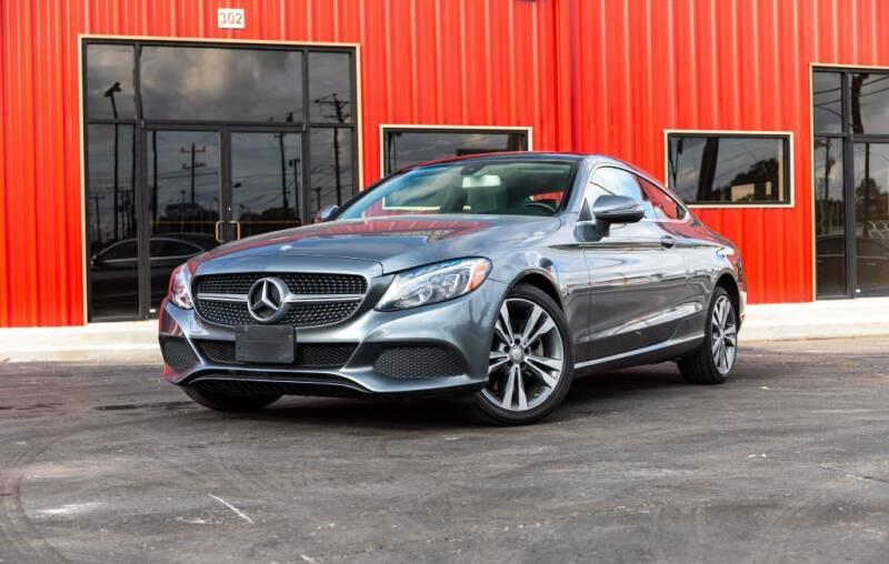 2017 Mercedes-Benz C-Class for sale at Kelley Autoplex in San Antonio TX