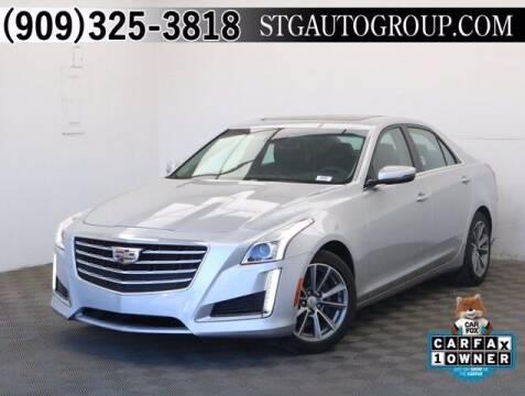 2017 Cadillac CTS for sale at STG Auto Group in Montclair CA