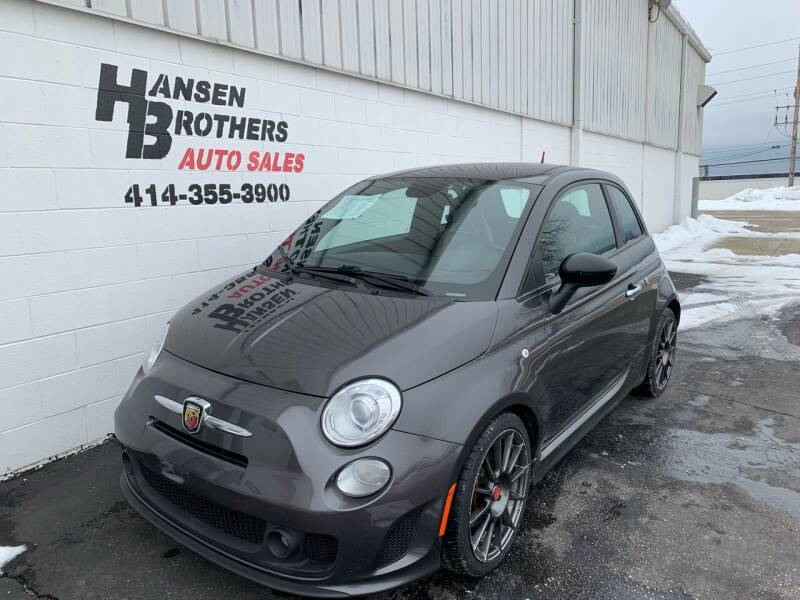2015 FIAT 500 for sale at HANSEN BROTHERS AUTO SALES in Milwaukee WI