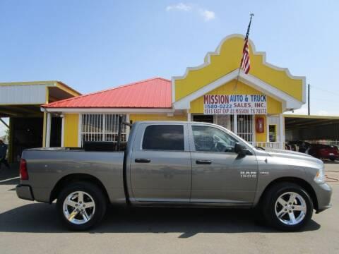 2013 RAM Ram Pickup 1500 for sale at Mission Auto & Truck Sales, Inc. in Mission TX