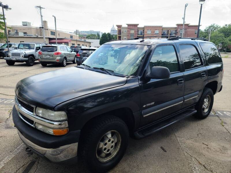 2002 Chevrolet Tahoe for sale at Steve's Auto Sales in Madison WI