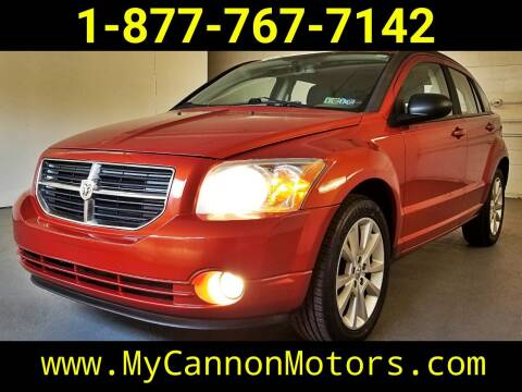 2010 Dodge Caliber for sale at Cannon Motors in Silverdale PA