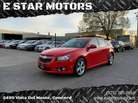 2014 Chevrolet Cruze for sale at E STAR MOTORS in Concord CA