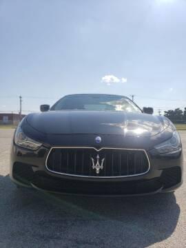 2014 Maserati Ghibli for sale at LOWEST PRICE AUTO SALES, LLC in Oklahoma City OK