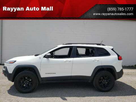 2015 Jeep Cherokee for sale at Rayyan Auto Mall in Lexington KY
