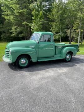 1952 Chevrolet 3100 for sale at Essex Motorsport, LLC in Essex Junction VT