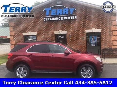 2012 Chevrolet Equinox for sale at Terry Clearance Center in Lynchburg VA
