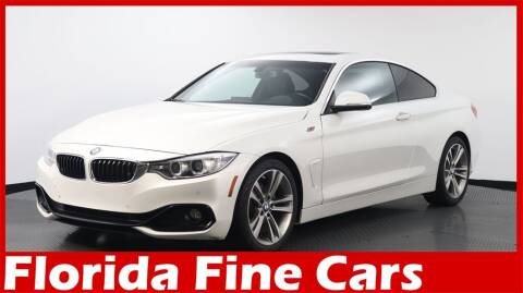 2016 BMW 4 Series for sale at Florida Fine Cars - West Palm Beach in West Palm Beach FL