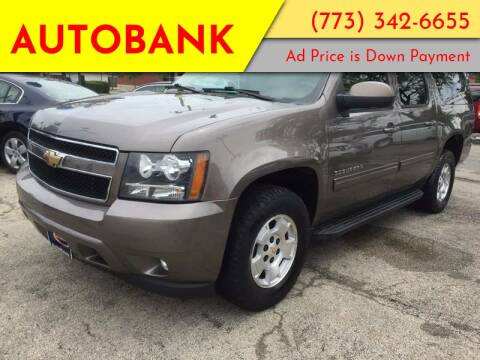 2011 Chevrolet Suburban for sale at AutoBank in Chicago IL