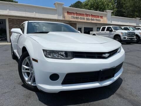 2015 Chevrolet Camaro for sale at North Georgia Auto Brokers in Snellville GA