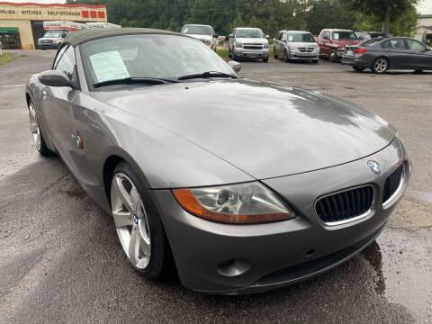 2003 BMW Z4 for sale at Atlantic Auto Sales in Garner NC