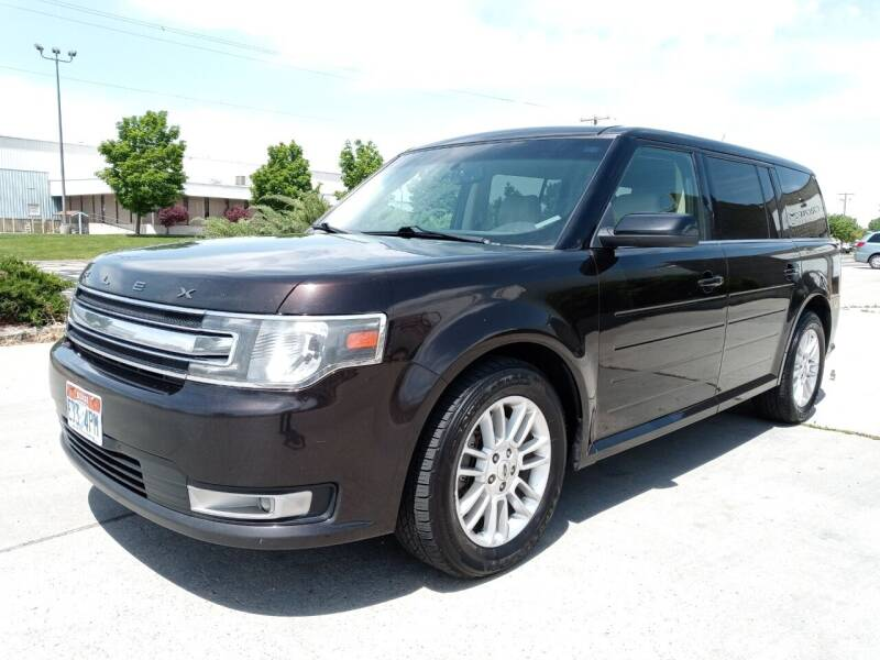 2013 Ford Flex for sale at AUTOMOTIVE SOLUTIONS in Salt Lake City UT