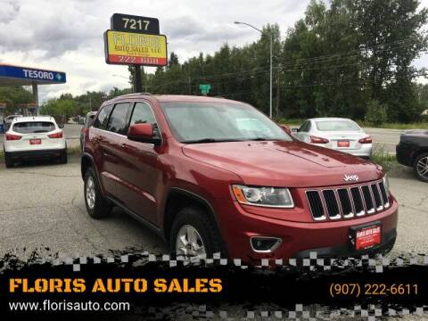 2014 Jeep Grand Cherokee for sale at FLORIS AUTO SALES in Anchorage AK