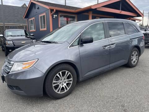 2012 Honda Odyssey for sale at Sabeti Motors in Tacoma WA