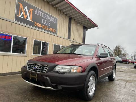 2002 Volvo XC for sale at M & A Affordable Cars in Vancouver WA