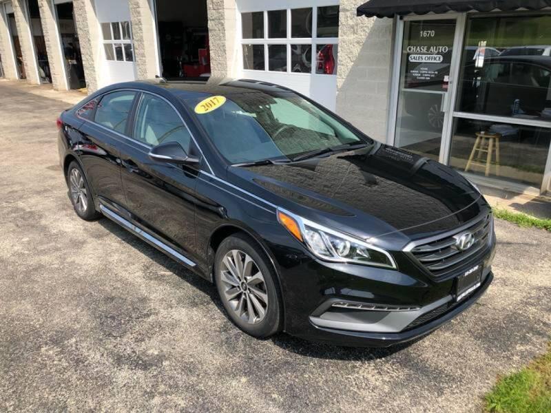 2017 Hyundai Sonata for sale at Cresthill Auto Sales Enterprises LTD in Crest Hill IL