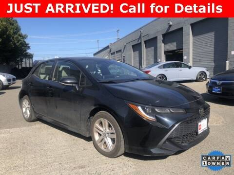 2019 Toyota Corolla Hatchback for sale at Toyota of Seattle in Seattle WA