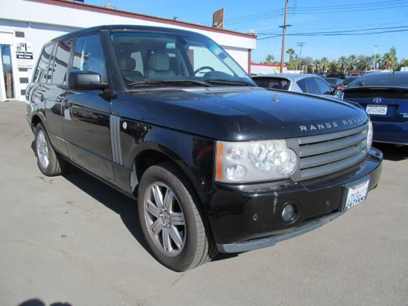 2008 Land Rover Range Rover for sale at Dealer Finance Auto Center LLC in Sacramento CA