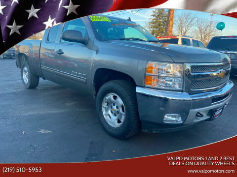 2013 Chevrolet Silverado 1500 for sale at Valpo Motors 1 and 2  Best Deals On Quality Wheels in Valparaiso IN