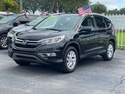 2015 Honda CR-V for sale at Bargain Auto Sales in West Palm Beach FL