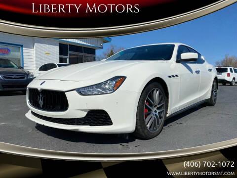 2014 Maserati Ghibli for sale at Liberty Motors in Billings MT