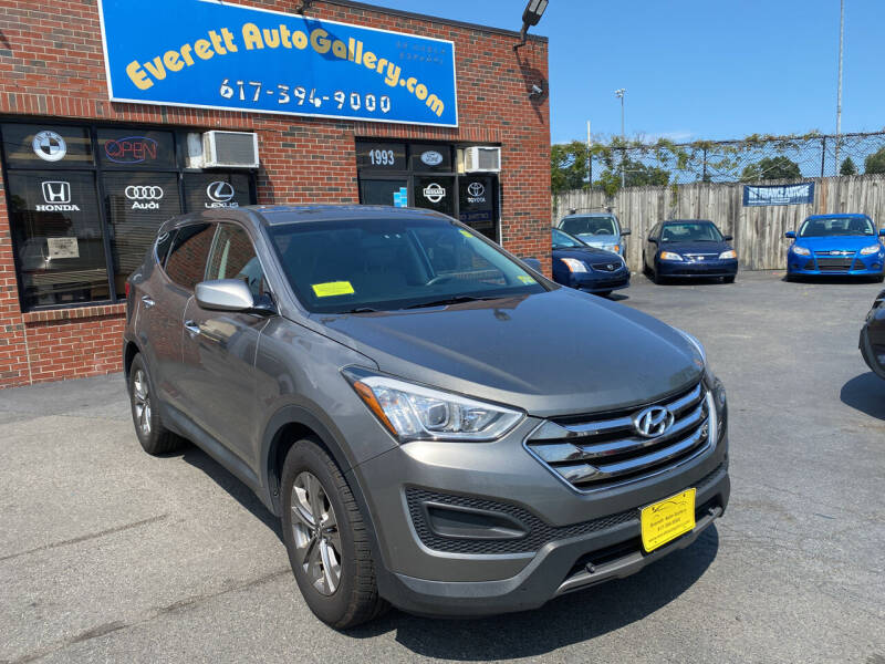 2016 Hyundai Santa Fe Sport for sale at Everett Auto Gallery in Everett MA