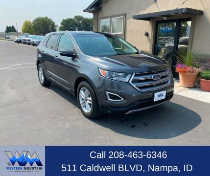 2017 Ford Edge for sale at Western Mountain Bus & Auto Sales in Nampa ID