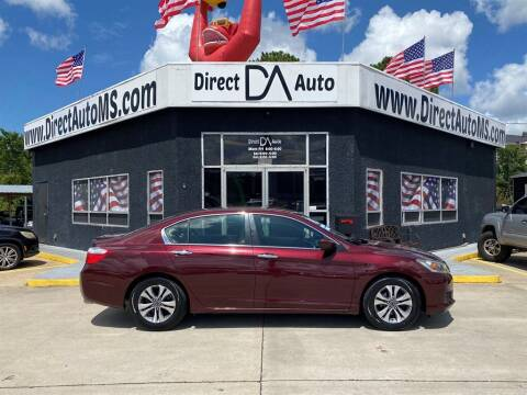 2015 Honda Accord for sale at Direct Auto in D'Iberville MS