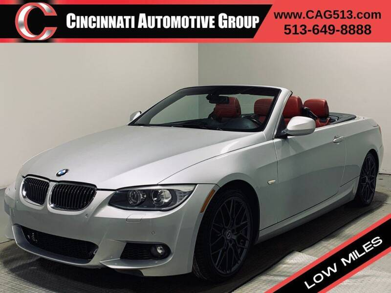 2013 BMW 3 Series for sale at Cincinnati Automotive Group in Lebanon OH