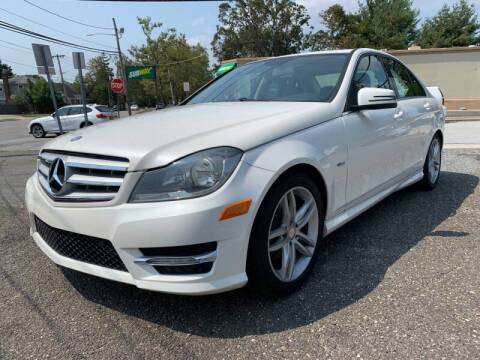 2012 Mercedes-Benz C-Class for sale at Jerusalem Auto Inc in North Merrick NY