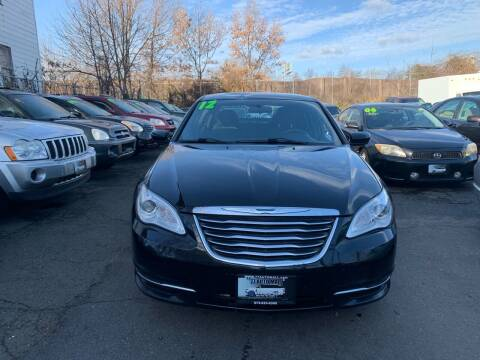 2012 Chrysler 200 for sale at 77 Auto Mall in Newark NJ