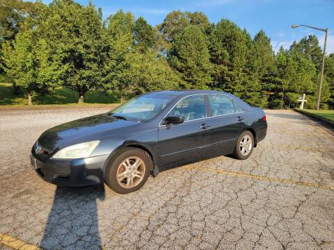 2006 Honda Accord for sale at WIGGLES AUTO SALES INC in Mableton GA
