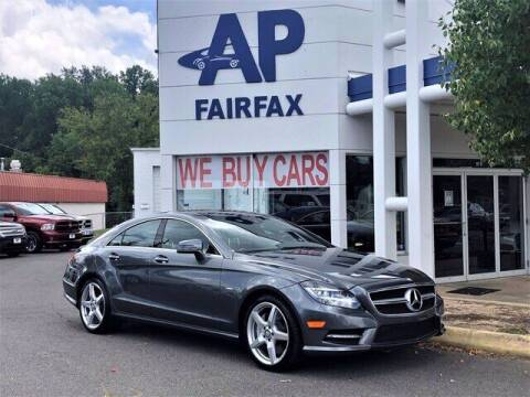 2012 Mercedes-Benz CLS for sale at AP Fairfax in Fairfax VA