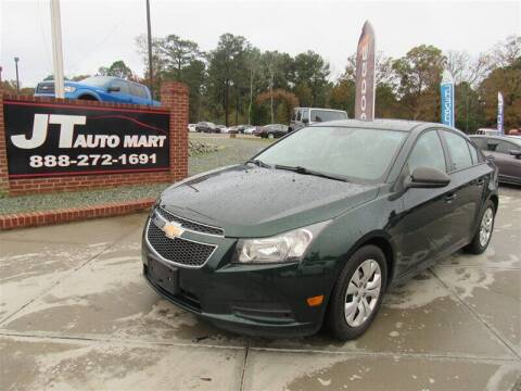 2014 Chevrolet Cruze for sale at J T Auto Group in Sanford NC