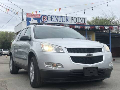 2011 Chevrolet Traverse for sale at Centerpoint Motor Cars in San Antonio TX