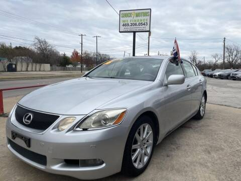 2006 Lexus GS 300 for sale at Shock Motors in Garland TX