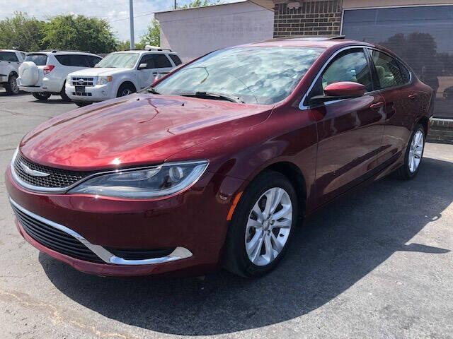2015 Chrysler 200 for sale at Kasterke Auto Mart Inc in Shawnee OK