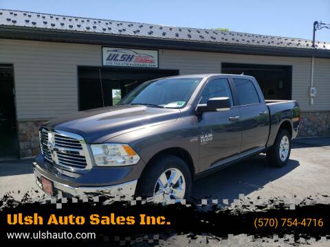 2019 RAM Ram Pickup 1500 Classic for sale at Ulsh Auto Sales Inc. in Summit Station PA