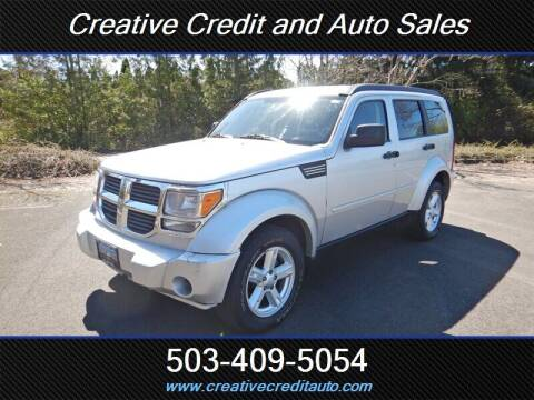 2007 Dodge Nitro for sale at Creative Credit & Auto Sales in Salem OR