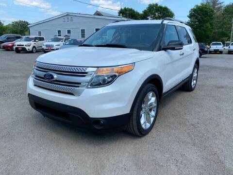2014 Ford Explorer for sale at AutoMile Motors in Saco ME