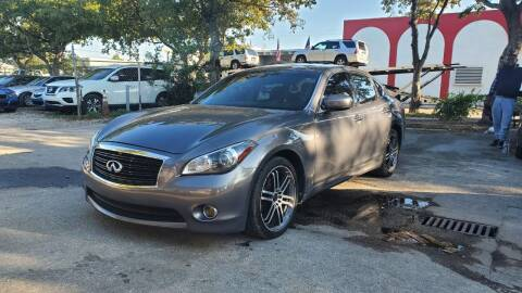 2011 Infiniti M37 for sale at All Around Automotive Inc in Hollywood FL