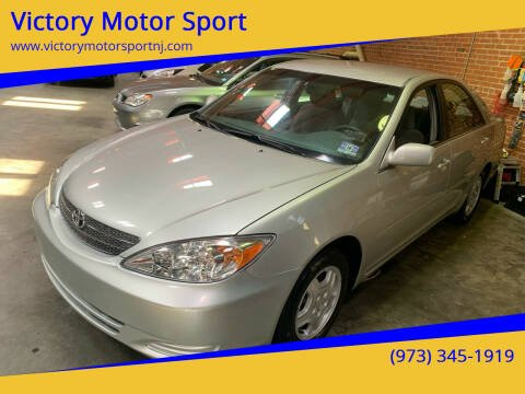 2002 Toyota Camry for sale at Victory Motor Sport in Paterson NJ