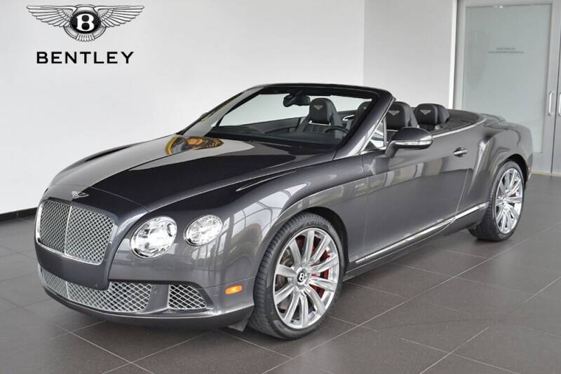 2014 Bentley Continental for sale at Bespoke Motor Group in Jericho NY